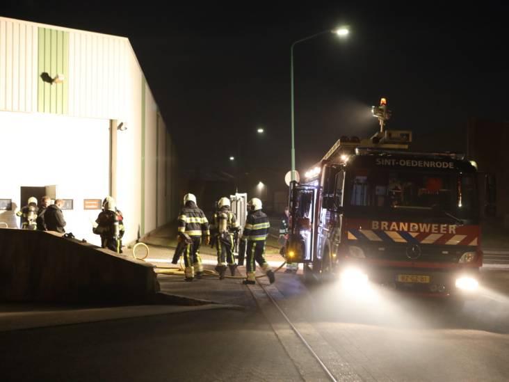 Brand in bedrijfspand in Sint-Oedenrode