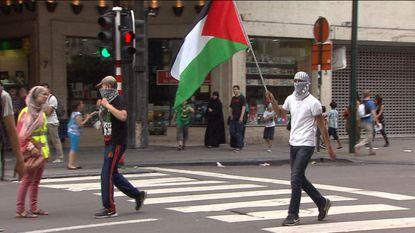 Betoging in Brussel loopt uit de hand