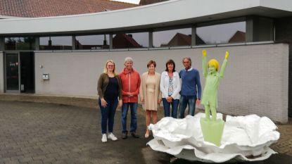Kunstwerk 'De Klaproos' herdenkt oorlog nu in Sint-Laureins