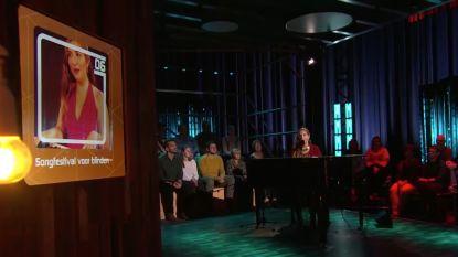 'Belgium's Got Talent'-kandidate Daisy zingt in primeur het lied waarmee ze deelneemt aan 'Songfestival for the Blind'