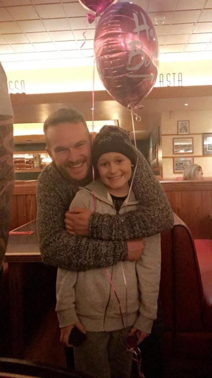 Bailey en zijn vader Jason.