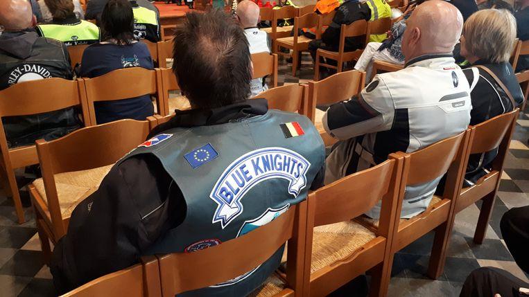 'Padre' Dirk Vannetelbosch is lid van de Blue Knights.