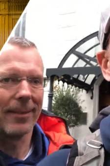 Horecawandelaars uit Ruurlo komen na 10 dagen aan bij premier Rutte