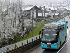 Sneeuw teistert de Ronde van Romandië