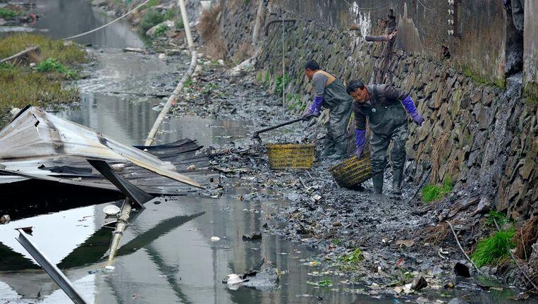 Een rivier in Zheijang Beeld REUTERS
