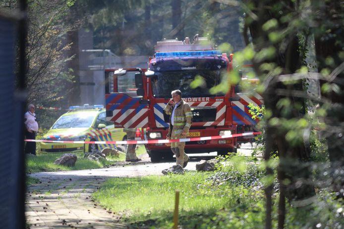 De brandweer en andere hulpdiensten rukten uit