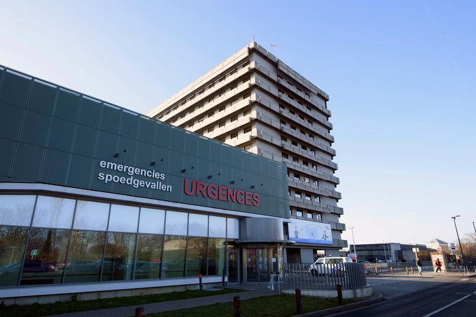 Les cliniques universitaires Saint-Luc, à Woluwe-Saint-Lambert.