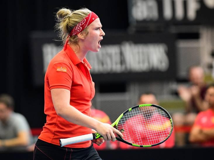 """Bonaventure: """"Le retour de Kim? Génial pour le tennis belge!"""""""