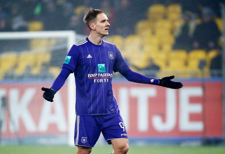 Teodorczyk speelde opnieuw een zeer matige wedstrijd.
