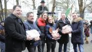 Varkenskopverkoop brengt 455 euro op