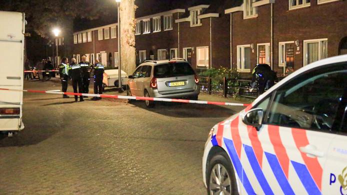Er is meerdere keren geschoten in de Jan Stevensstraat in Helmond.