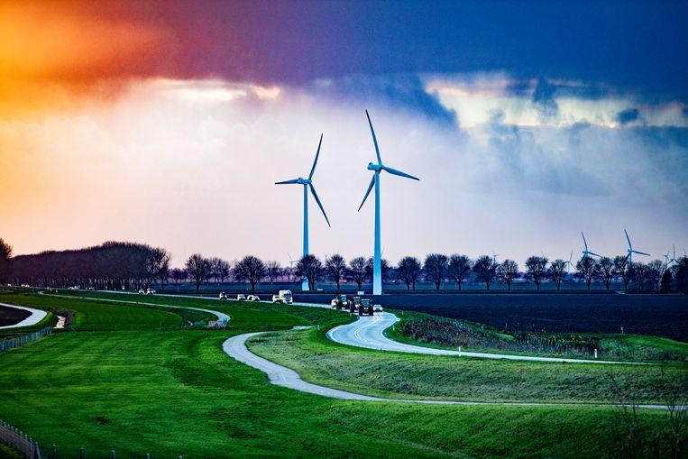 Windturbines Beeld Rob Voss / Hollandse Hoogte