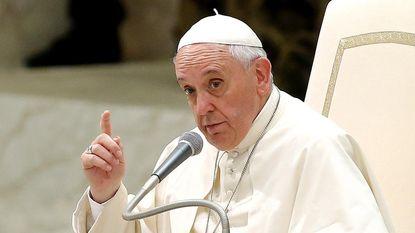 Paus Franciscus zou ook marsmannetjes dopen