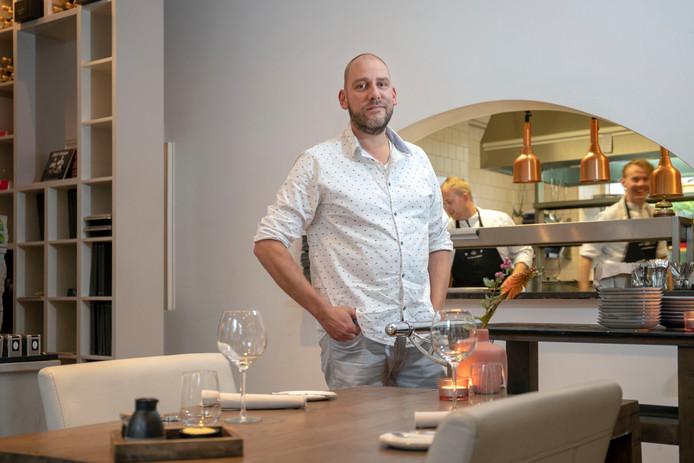 dwin van den Oever heeft zijn restaurant het Oude Politiebureau in Ede verkocht.