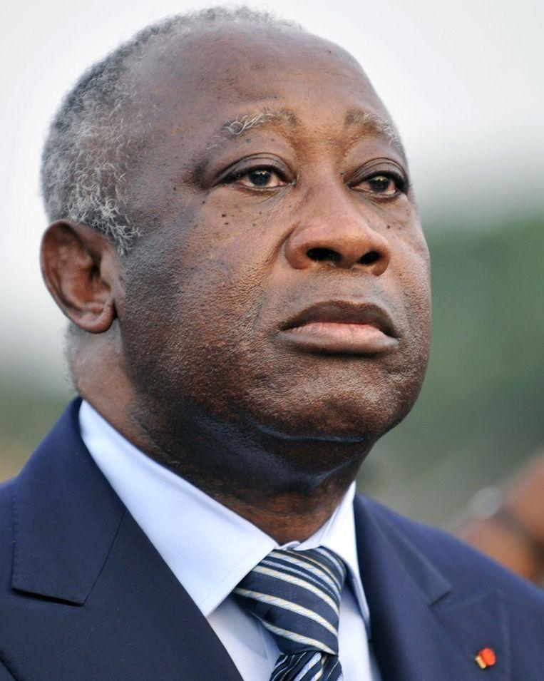 Gbagbo, archieffoto uit 2011 Beeld afp