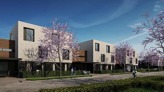 Er komen 54 eengezinswoningen op de nieuwbouwlocatie Noordelijk Niertje Oost.