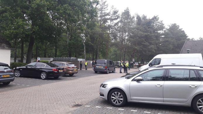 Controles bij camping De Brugse Heide in Valkenswaard.