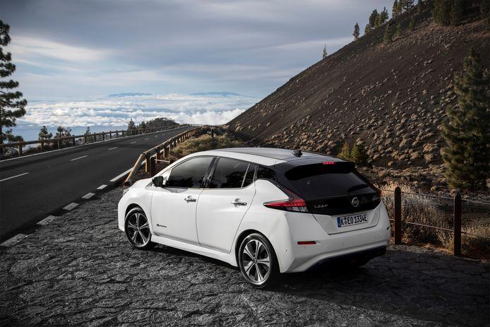 In de nieuwe Nissan Leaf hoeft het rempedaal al bijna niet meer te worden gebruikt.