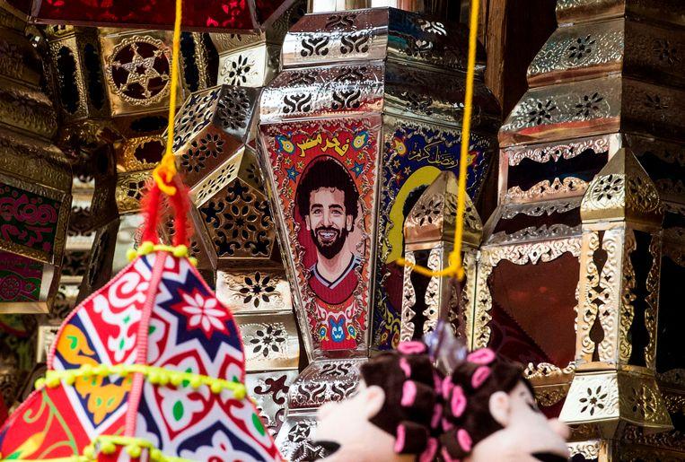 In Egypte neemt de Salah-gekte ongekende vormen aan: hier zijn afbeelding op Ramadan-lantaarns.