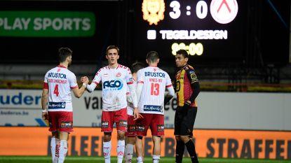 """Confrontatie tussen KV Kortrijk fans en politie in Mechelen: """"Een fan in been gebeten door politiehond"""""""