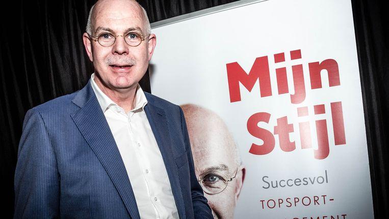 PSV-directeur Toon Gerbrands bij de presentatie eerder dit jaar van zijn boek. Beeld anp