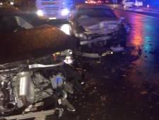 Aanschuiven op Kennedylaan na ongeval met zes wagens