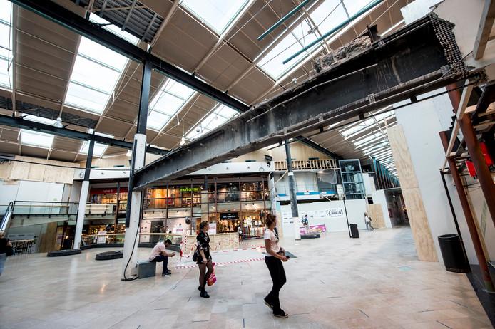 Winkelcentrum De Oranjerie in Apeldoorn wordt verbouwd.