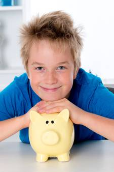 Kinderen hebben liever een volle spaarpot dan spullen