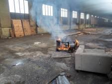 Opnieuw brand in lege fabriek van Mercon