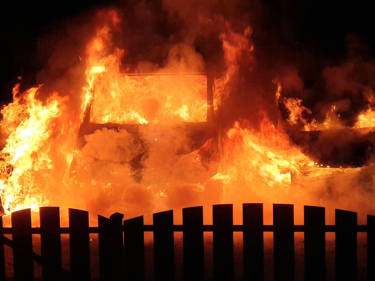 Autobrand in Gouda 13 mei 2019 / hennie roodbol