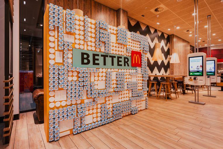 McDonald's streeft naar duurzaamheid.