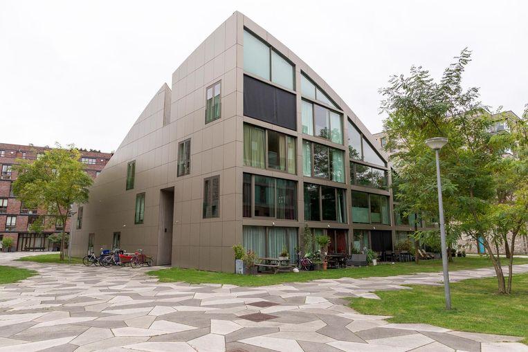 Nieuwbouw in de stad Beeld Rink Hof