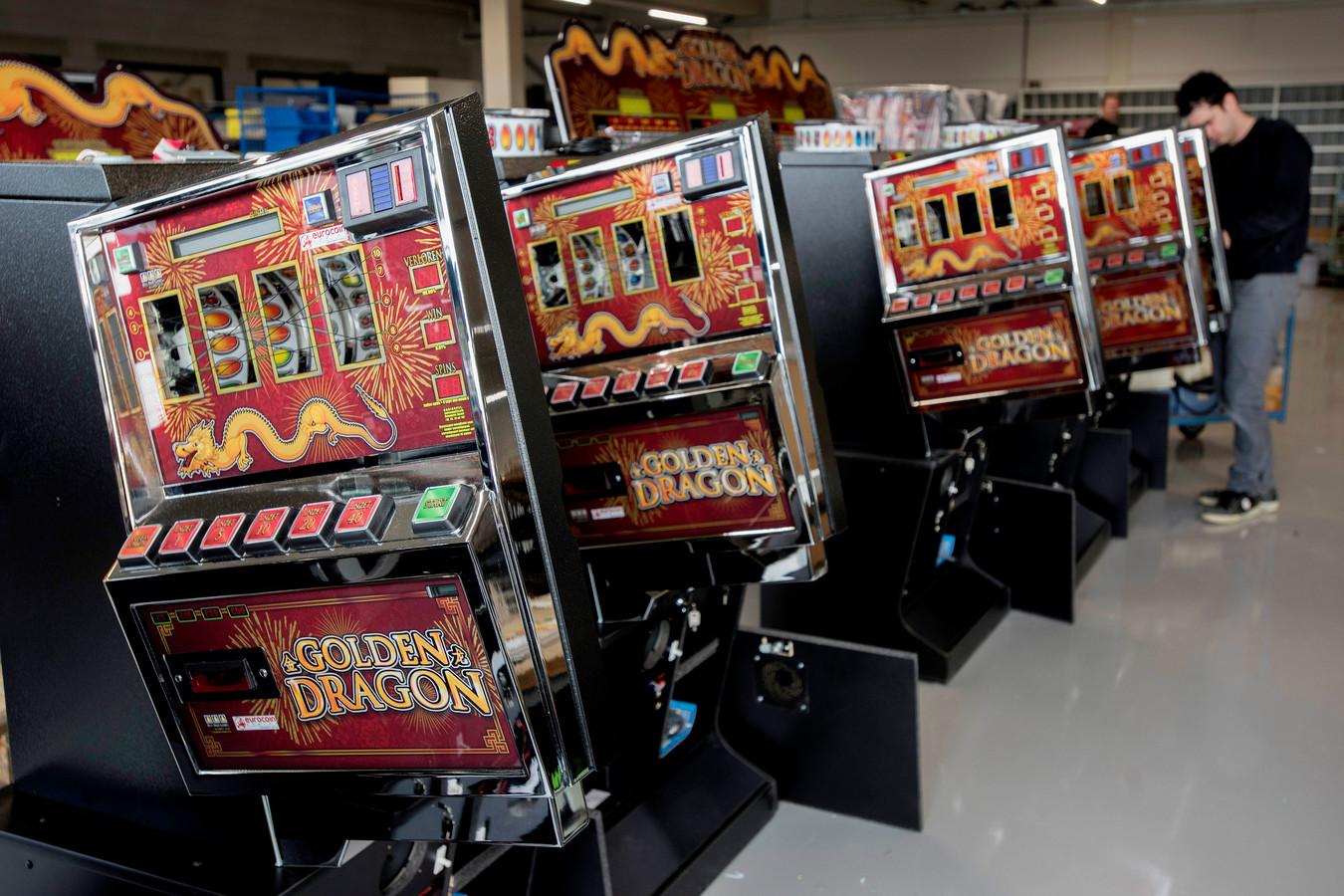 Speelautomaten.