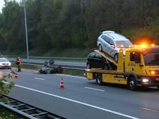 File op A73 door ongeval bij Cuijk