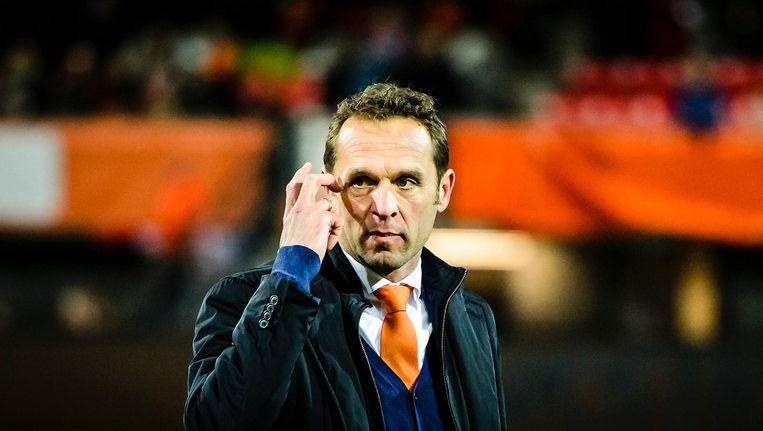 Arjan van der Laan, eind december ontslagen als coach van het Nederlands damesvoetbalelftal. Beeld null