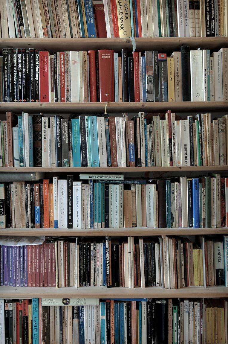 Boekenkast Beeld