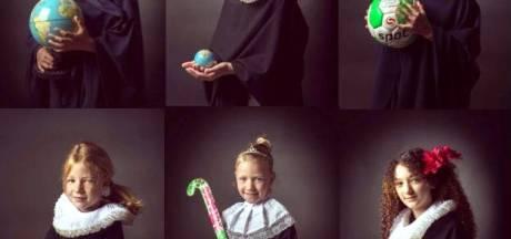 Wat als Rembrandt schoolfotograaf was? Op basisschool in Gelderland weten ze het wel