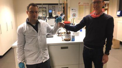 Middelkerkse bedrijf 'Carin Haircosmetics' vormt productie om naar desinfecterende handgel