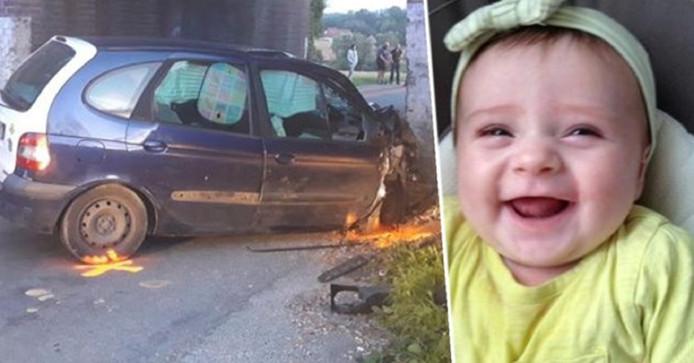 De ouders lieten hun 18 maanden oude en hersendood verklaarde dochtertje achter in het ziekenhuis.