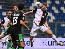Juventus komt met doelpuntrijk gelijkspel goed weg bij Sassuolo