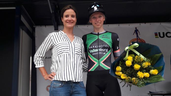 Marianne Vos en Lorena Wiebes.