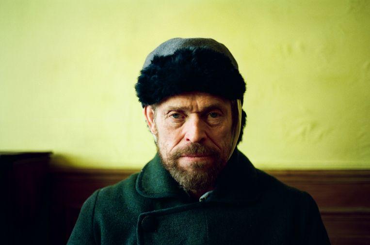 Willem Dafoe als Vincent van Gogh Beeld