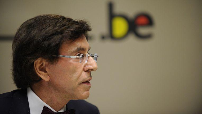 De 'premier van alle Belgen', Elio Di Rupo. Beeld ANP