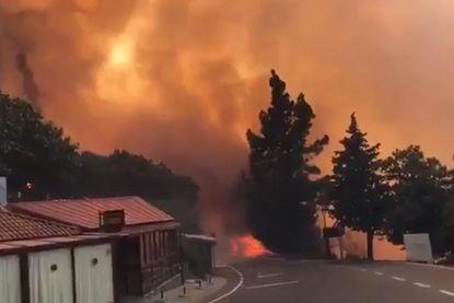 Bosbranden houden lelijk huis op Gran Canaria