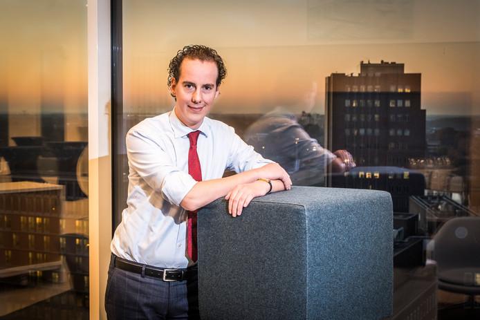 Wethouder Arjen Maathuis van Almelo