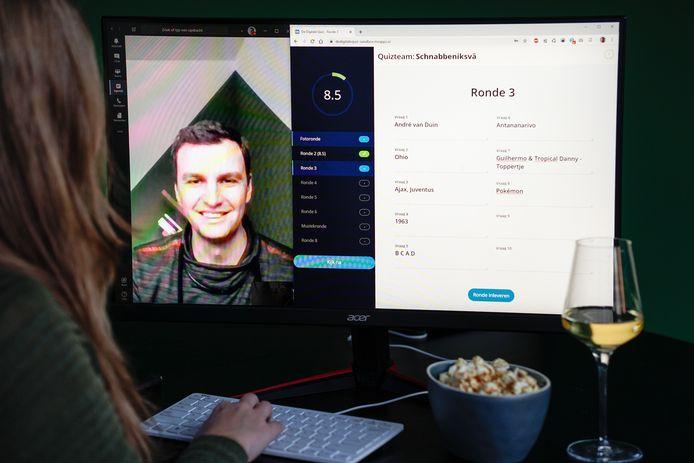 Martin Leppen bouwde als fanatiek pubquizzer een speciale app. Die gaat volgende week online.