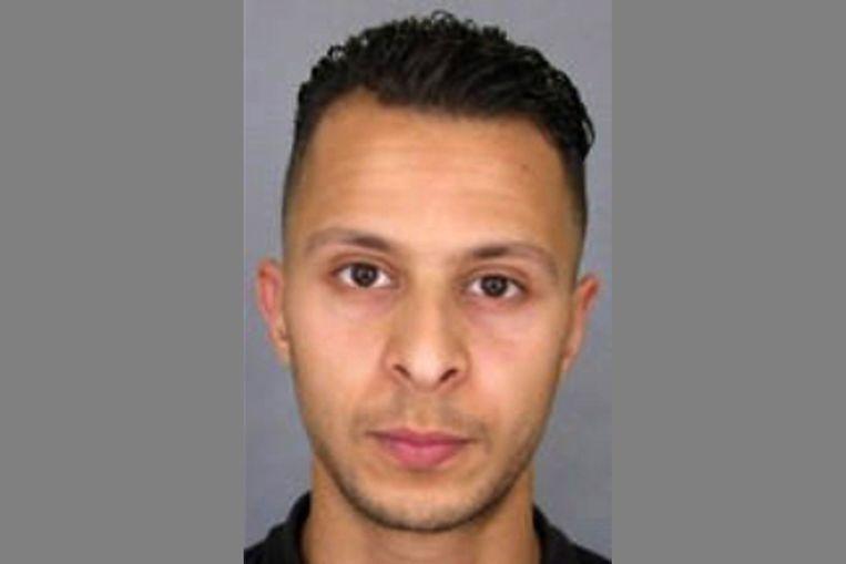 Een justitiefoto van Salah Abdeslam die in het belang van de opsporing is vrijgegeven. Beeld afp