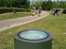 Wéér vernieling in Máximapark, dit keer mollen vandalen een kunstwerk van 10.000 euro