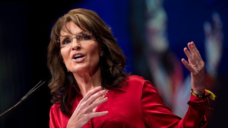 Sarah Palin Beeld AP