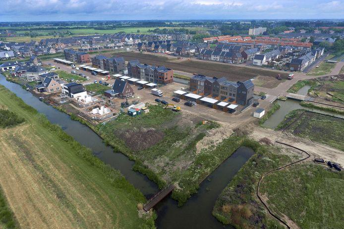 De wijk Broekgraaf is nog in aanbouw.